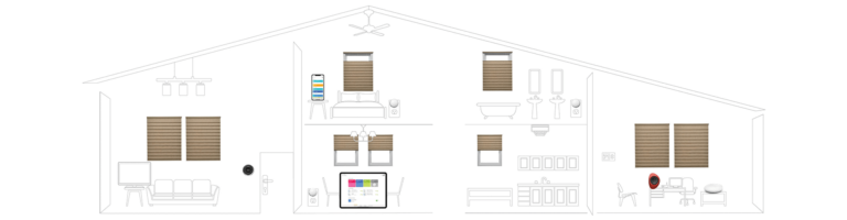 automated shades and blinds