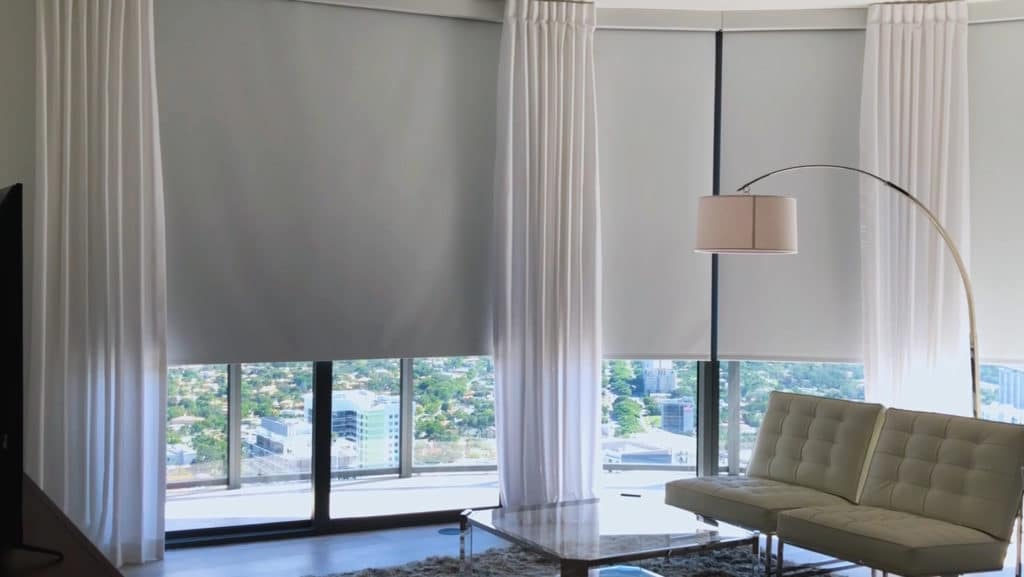 blinds automation in apartment